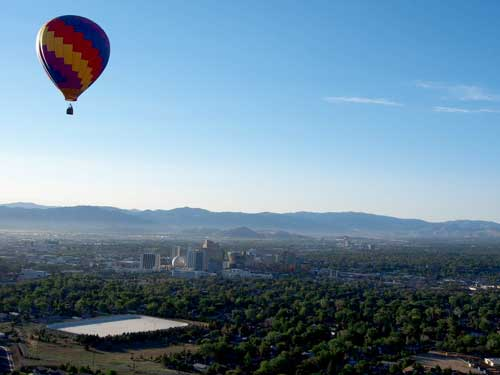 Living in Washoe County, balloon race