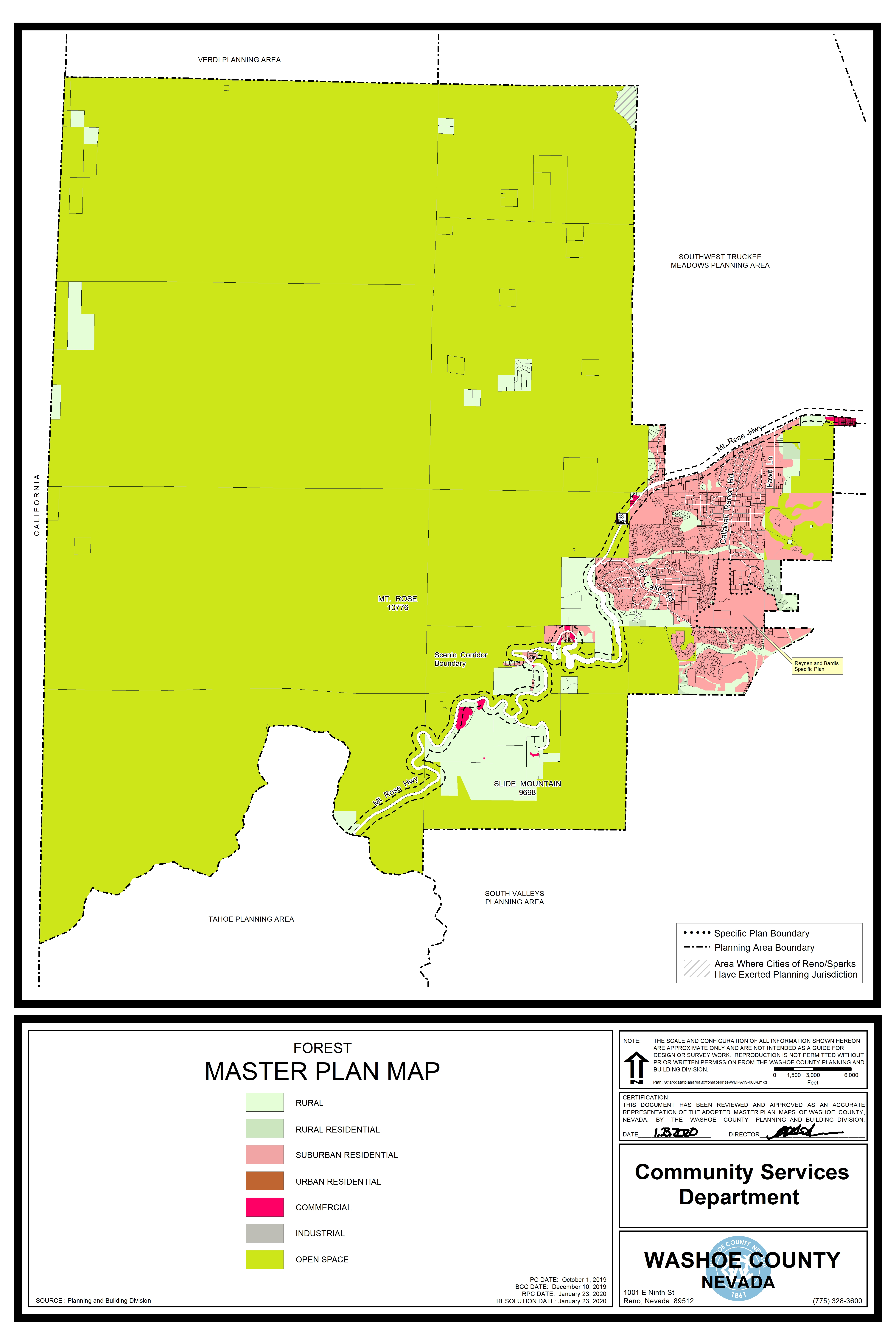 Forest Area Plan Map Pdf
