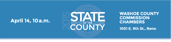 2015 State of the County - April 15, 10 a.m.