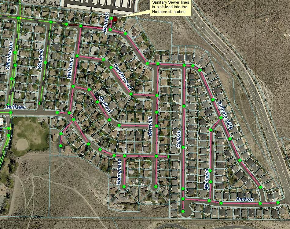 Regional NVFlood Update - Street map of reno nv