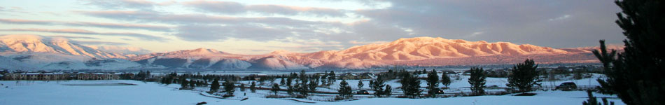 The Truckee Meadows shines in a new coat of winter snow
