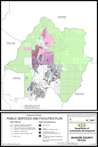 Spanish Springs Public Services and Facilities Plan Map