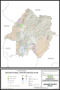 Spanish Springs Recreational Opportunities Plan Map