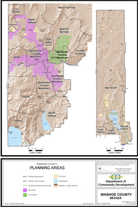 Washoe County Planning Areas Map