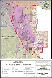 Southeast Truckee Meadows Citizen Advisory Board map 1