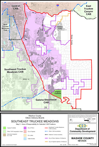 Southeast Truckee Meadows Citizen Advisory Board map 2