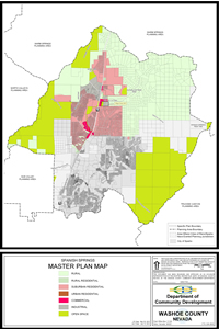 Spanish Springs Master Plan map 200x300 image