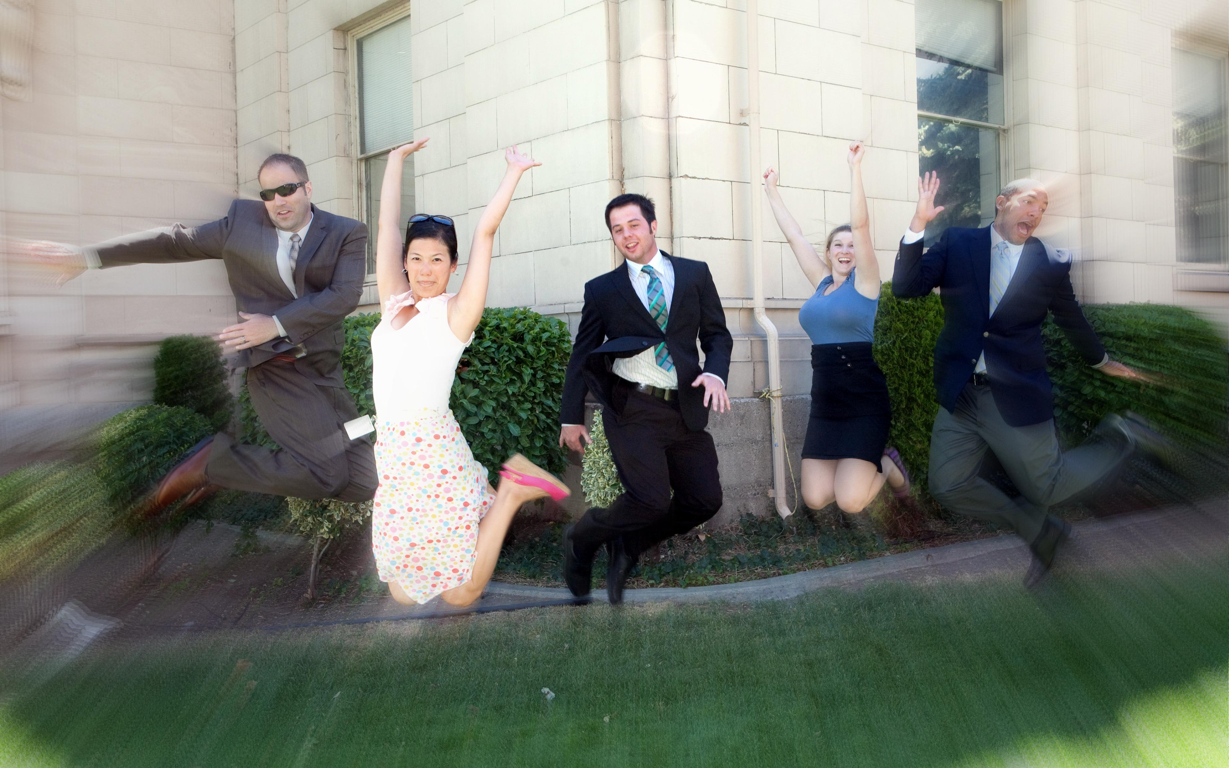 jump for joy photo