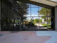 The Washoe County Health District, located at 1001 East Ninth Street, Building B, Reno, Nevada.