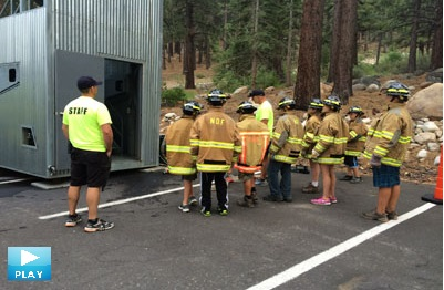 Truckee Meadows Fire Protection District Kids Fire Camp 2014